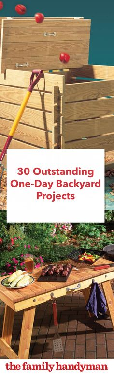 30 Outstanding One-Day Backyard Projects