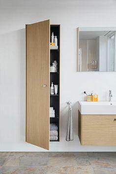 Bathroom Furniture from Duravit - a leading manufacturer of innovative bathroom furnishings Duravit - Living bathrooms. Modern Luxury Bathroom, Contemporary Bathroom Designs, Beautiful Bathrooms, Modern Bathrooms, Next Bathroom, Family Bathroom, Duravit, Bathroom Furniture Design, Mini Bad