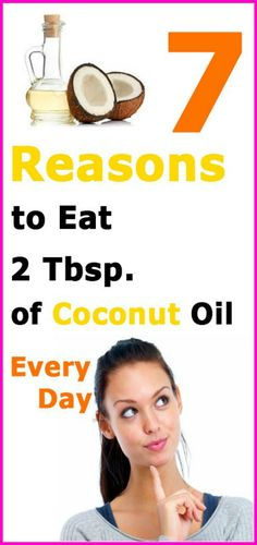 7 Reasons To Eat 2 Tbsp. of Coconut Oil Every Day – Upgraded Health Coconut oil can help women lose weight, boost thyroid function, kill fungus overgrowth, and get a flat belly. Every woman should eat 2 Tbsp. of coconut oil daily. Coconut Oil Weight Loss, Weight Loss Water, Coconut Oil Uses, Benefits Of Coconut Oil, Weight Loss Diet Plan, Lose Weight, Coconut Oil Beauty, Cocunut Oil, Detoxify Your Body