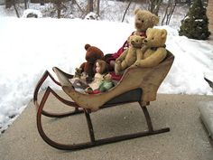 Tracy's Toys (and Some Other Stuff): Children's Antique Sleigh