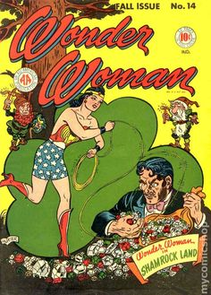 The 2018 Vintage Wonder Woman Calendar features classic covers from the Golden Age of DC Comics, made using sustainable materials from cover to cover. Comic Book Covers, Comic Books Art, Comic Art, Book Art, Caricature, Happy St Paddys Day, Dc Comics, Justice Society Of America, Wonder Woman Comic