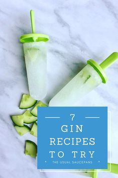 Who doesn't love lots of gin in their life? These 7 gin recipes will give you lots of ideas for trying gin in new ways - from raspberry gin to making gin and tonic ice lollies!