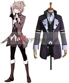 Vocaloid Deadline Circus Len Cosplay Halloween Costume