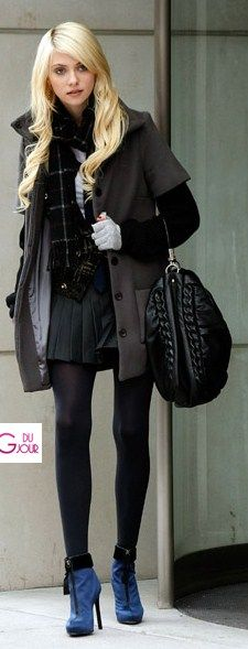 Winter Style Inspired by Gossip Girl