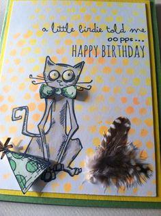 Tim Holtz Crazy cat  cats by Nancy Pietras