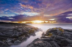 Hawaiian Sunrise by NaomiBarberi
