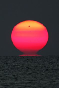 Transit of Venus Tahiti style- - -I've never seen any of this; maybe living where I do is a factor. I've never seen a red planet in the sky,unless it was the Sun giving off some color.