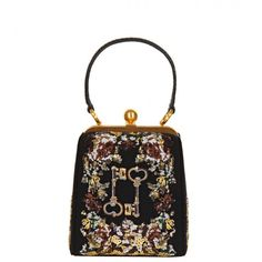 Dolce & Gabbana 'Agata' Embroidered Sequin Bag from www.profilefashion.com