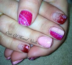 Day 40: Love is All Around Nail Art - - NAILS Magazine