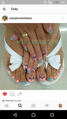 IG unasalocolombiano Cute Toe Nails, Toe Nail Art, Gel Nails, Matte Pink Nails, Burgundy Nails, Square Nail Designs, Toe Nail Designs, Acylic Nails, Nail Salon Design