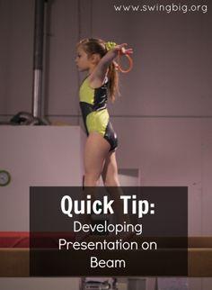 Quick tip developing presentation on beam