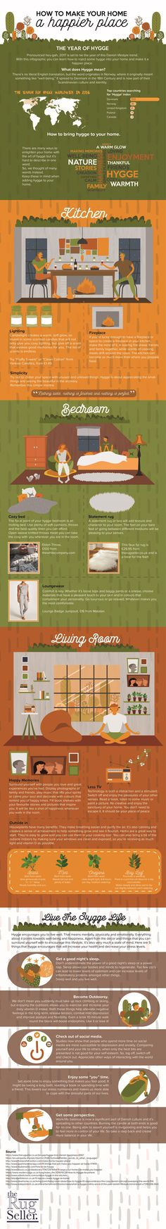 How to Make Your Home a Happier Place #Infographic #HomeImprovement