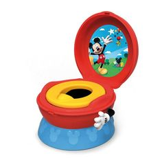 Disney Baby Toilet Training Children Potty Trainer Seat Chair, Mickey – Vick's Great Deals