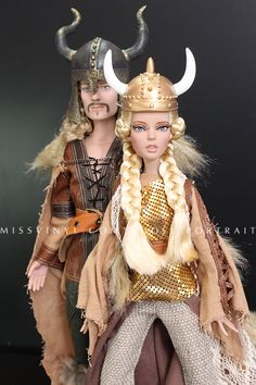 Deja Vu Warrior Woman & Halvar