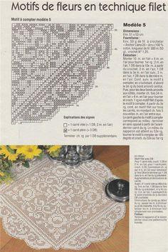 World crochet: Napkin 480 Crochet Tablecloth Pattern, Crochet Curtains, Crochet Doily Patterns, Crochet Motif, Crochet Doilies, Knit Crochet, Filet Crochet Charts, Crochet Diagram, Crochet Buttons