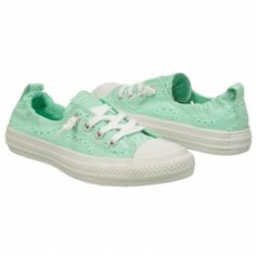 Athletics Converse Women's Shoreline Slip On Mint Eyelet FamousFootwear.com