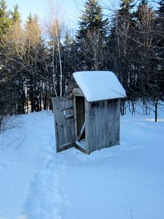 Vermont outhouse
