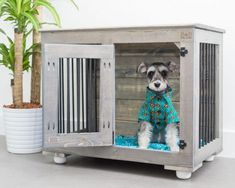 The Single Doggie Den Indoor Rustic Dog Kennel Crate Medium Dog Kennel, Wire Dog Kennel, Wooden Dog Kennels, Cheap Dog Cages, Wooden Dog Crate, Dog Crates, Cheap Dog Kennels, Dog Crate Furniture, Furniture Ads