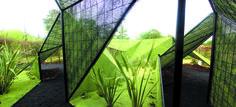 GARDEN PAVILION CUT architectes Location : Chaumont-sur-Loire - France  Festival International des Jardins  Date : 2006  Area / Surface : 250m²  Budget : 14K€ excl. VAT  Pictures : © David Foessel  Associate Architect: Marc-Emmanuel Rihouey