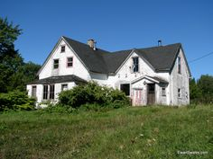 The abandoned farm houses that dot the Nova Scotia countryside always stir mixed emotions in my soul.