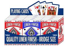 Tallon Games Linen Bridge Size Playing Card Tallon http://www.amazon.co.uk/dp/B00FJUPJVQ/ref=cm_sw_r_pi_dp_YgLWwb0NZG683