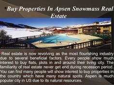 Aspen Snowmass is the world most popular place where people from various regions will show much interest to spend their time in this city to spend their summer vacations.