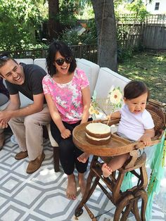 Quincy's First Birthday party -- a perfect outdoor birthday party