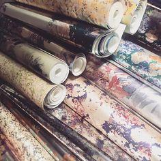 Luxury Wallcoverings and Print Design Print Design, Kitchen Appliances, Website, Studio, Wallpaper, Collection, Instagram, Diy Kitchen Appliances, Print Layout