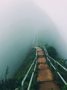 Stairway to Heaven - Oahu Hawaii - Landscape photography