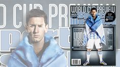 Messi features on the cover of Sports Illustrated