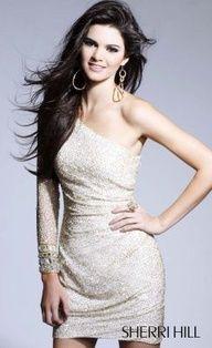 Kendall Jenner models Sherri Hill 1452