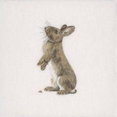 Rabbit Original Hand Embroidery                              …