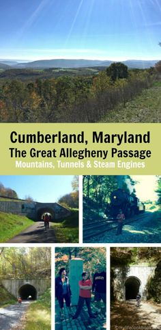 Enjoy a Day Trip with Rick on a bicycle ride from Deal, Pa to Cumberland MD in this scenic and easy bike trip. Vacation Places, Vacation Destinations, Vacations, Cumberland Maryland, Travel Tours, Travel Ideas, Travel Inspiration, Bike Trails, Biking