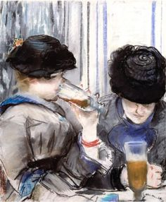 Edouard Manet, Women Drinking Beer
