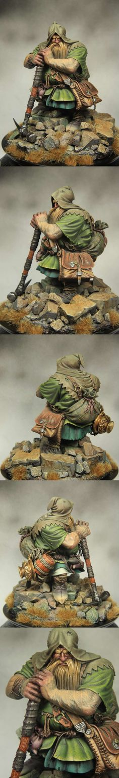 Dwarf tombraider 90mm