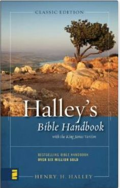 """Halley's Bible Handbook was born out of the conviction of Henry H. Halley that everyone ought to read the Bible daily. From its first edition, a small give-away booklet of 16 pages, it has grown into an 864-page """"almanac"""" of biblical information, used regularly by hundreds of thousands of laymen, teachers, and"""