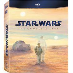 Star Wars: The Complete Saga on Blu-ray $79.99