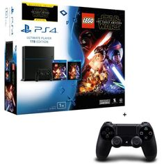 398.82 € ❤ #PS4 1 To + #Lego #StarWars : Le Réveil de la #Force + #StarWarsVII Blu Ray + 2 #Manettes de Jeu DualShock 4 Noires ➡ https://ad.zanox.com/ppc/?28290640C84663587&ulp=[[http://www.cdiscount.com/jeux-pc-video-console/consoles/ps4-1-to-lego-star-wars-le-reveil-de-la-force-j/f-1033916-bunswarsmanet.html?refer=zanoxpb&cid=affil&cm_mmc=zanoxpb-_-userid]]