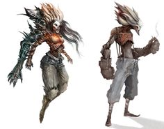 EYARDT: Characters, Concepts, Illustrations | CHARACTERS