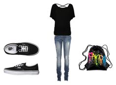 on me way by ladiee-e on Polyvore featuring Vans