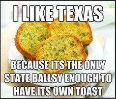 Texas has its own toast!