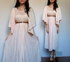 Vintage Boho Maxi Dress