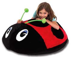 This plush, Mega Vibrating Love Bug combines the feel of a soft beanbag with the therapeutic effects of vibration.