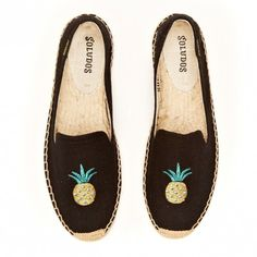 Soludos Pineapple Embroidered Espadrille | Free Shipping at SoleSociety.com!