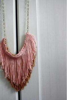 DIY Tutorial DIY Leather / DIY Fringe Studded Leather Necklace - Bead&Cord