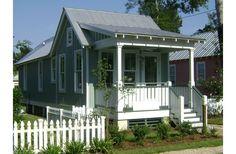 Shotgun style from Katrina cottages
