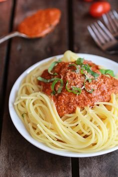Make your own homemade  with a twist pasta sauce with this Crockpot Brown Butter Marinara Sauce | halfbakedharvest.com