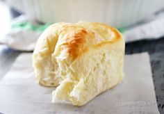 One Hour Dinner Rolls are made with this easy yeast rolls recipe. Buttery, soft, fluffy dinner rolls are undeniably delicious! My favorite roll recipe ever!