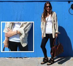 A Teca postou look com a calça legging sensação da 3:AM. Agora, no blog! Look, Women, Fashion, Fashion Now, Teak, Moda, Women's, Fasion