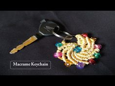 DIY simple Macrame Keychain Tutorial No.8